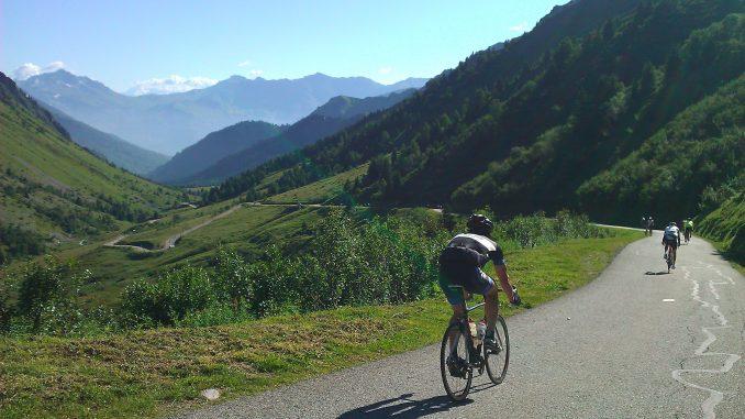 De bedste cykel stigninger i Alperne