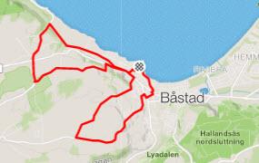 Båstad Grand Prix - Cykelrute