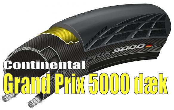 Nyt Grand Prix 5000 dæk fra Continental