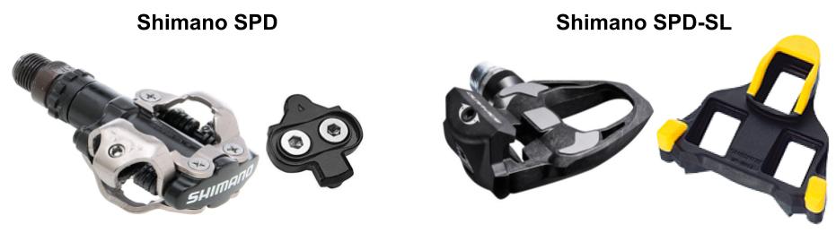 Shimano SPD og SPD-SL pedaler