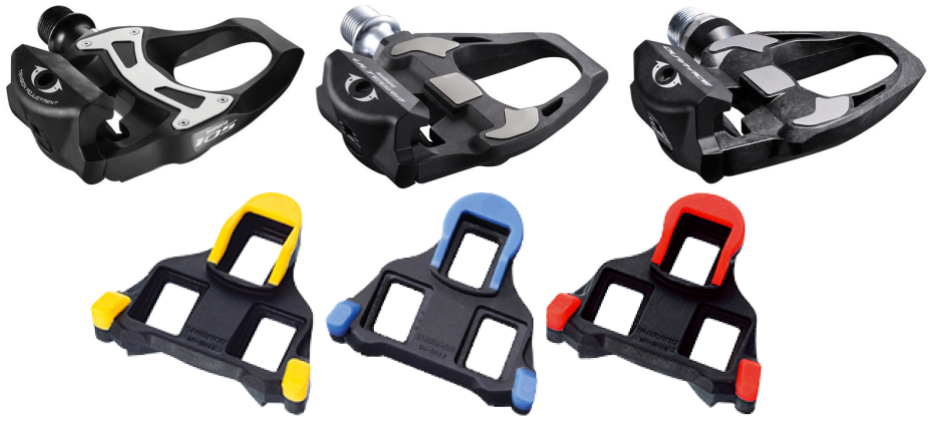 Shimano SPD-SL pedaler og klamper