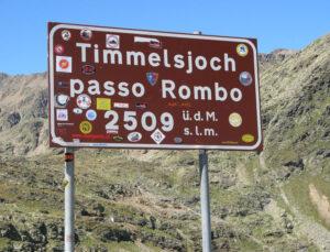 Timmelsjoch - Passo del Rombo