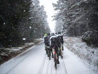 Vintertræning på cykel